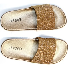 Шлепки женские J.B.P. Shoes NU25 Gold.