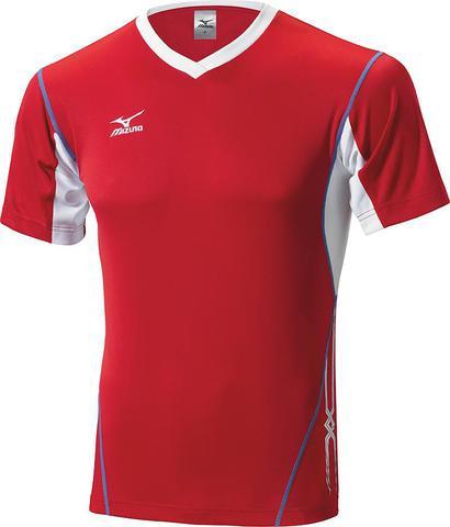 Футболка волейбольная Mizuno Premium Top Tall мужская red