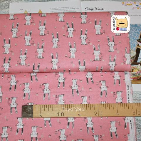 Ткань для пэчворка корейский хлопок 20827 (45х55см)