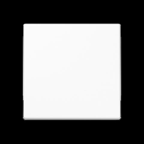 Выключатель одноклавишный. 10 A / 250 B ~. Цвет Белый. JUNG A. 501U+A590WW