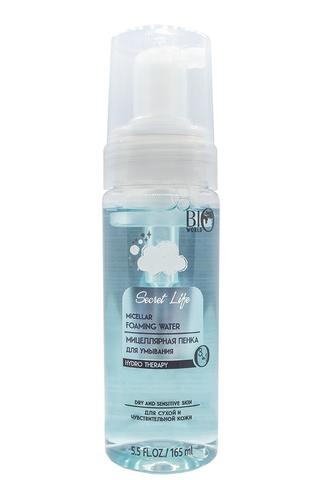 Bio World Secret Life Мицеллярная пенка для умывания для сухой и чувствительной кожи 165мл