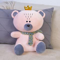 Мягкая игрушка Мишка с короной