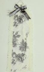 Держатель туалетной бумаги Old Florence Амели серый