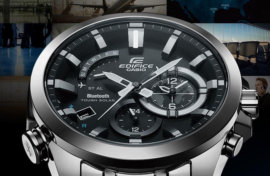 Умные наручные часы Casio Edifice EQB-510D-1A- купить по цене ... 8a87dbd1dfe
