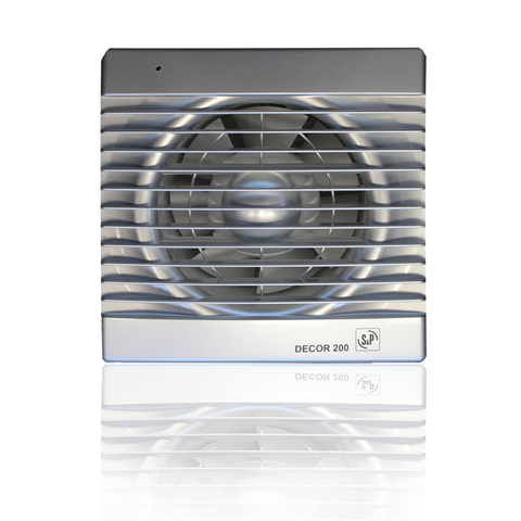 Вентилятор накладной S&P Decor 100 C Silver