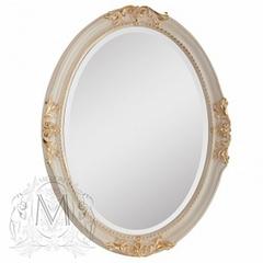Зеркало овальное Migliore ML.COM-70.503.AV.DO Аворио/декор золото 82х62х5,5см.