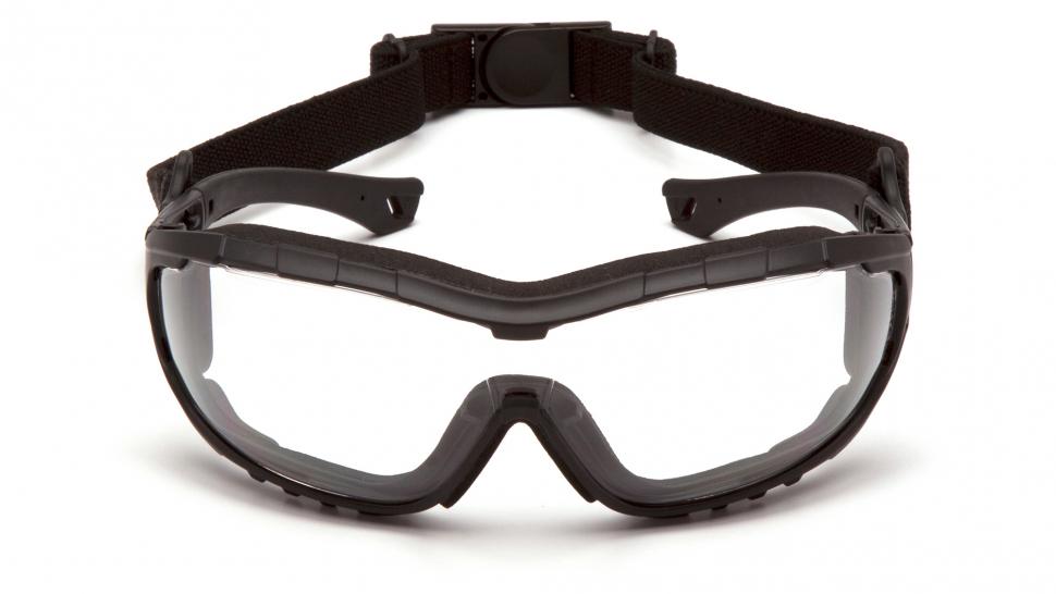 Очки баллистические тактические Pyramex V3T SB10310ST Anti-fog прозрачные 96%