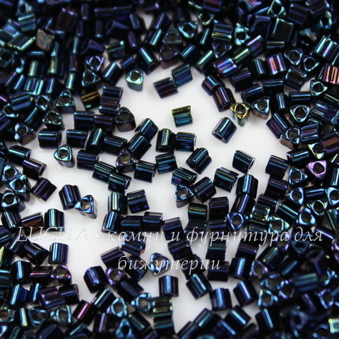 0082 Бисер японский TOHO Triangle (треугольный) 11/0, металлик, туманность