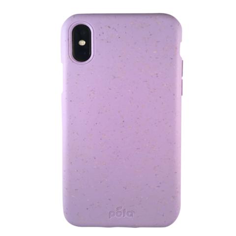 Чехол для телефона PELA IPhone XS сиреневый