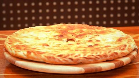 Афар с сыром и зеленью