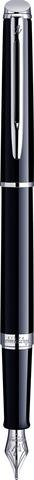 Перьевая ручка Waterman Hemisphere, цвет: Mars Black/CT, перо: F123
