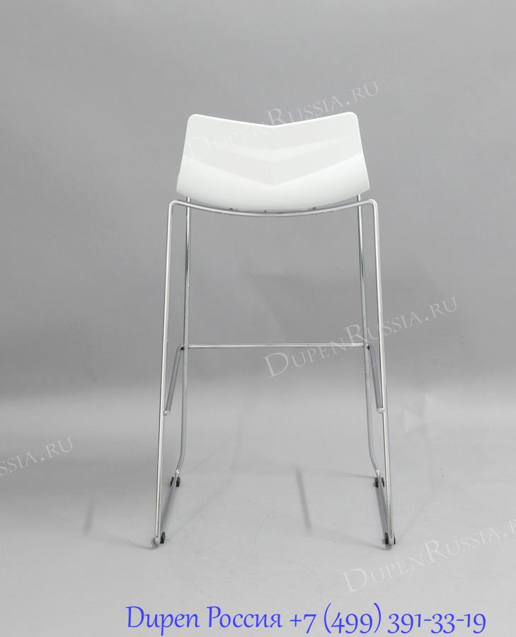 Стул барный LEAF-06 белый