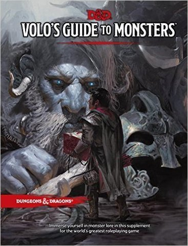 D&D Next: Volo's Guide to Monsters book