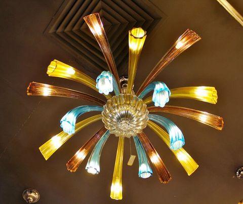 murano chandelierARTE DI MURANO  12-19  by Arlecchino Arts ( HK)