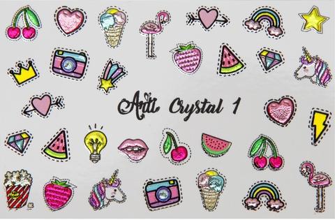 Слайдер Arti CRYSTAL № 001