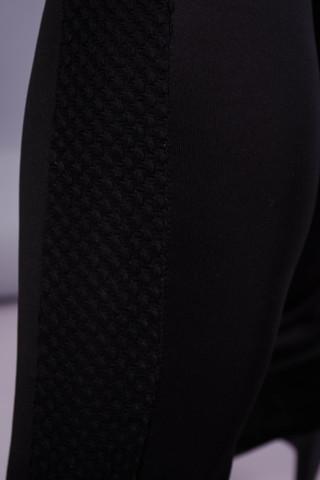 Эйра. Женский костюм плюс сайз. Черный.