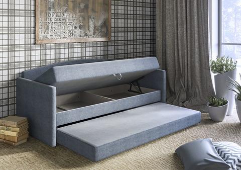 Односпальная Кровать-софа «Оксфорд» с ящиком для белья