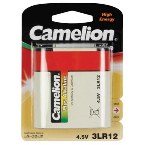 Батарейки Camelion Alkaline 3LR12, 4.5V (1/20)