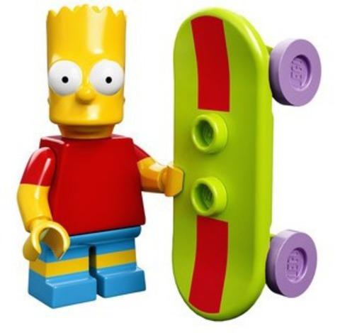 LEGO Minifigures: серия  Симпсоны 71005