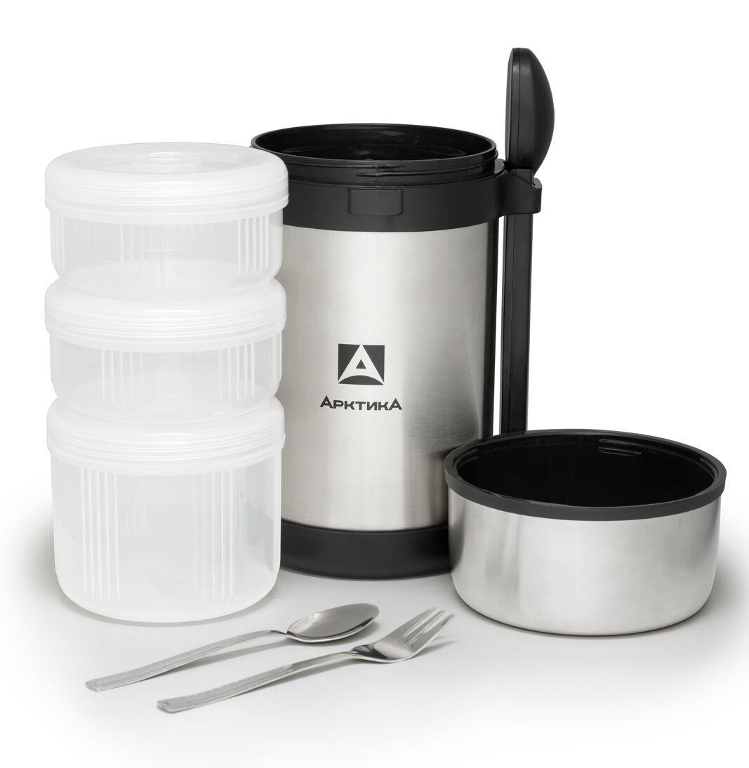 Термос для еды многофункциональный Арктика (1,5 литра), стальной*