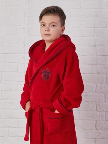 ATHLETIC DEPT (Red) халат для мальчика  Five Wien (Турция)