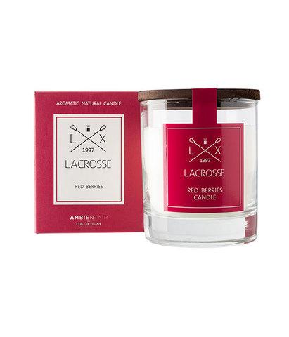 Свеча ароматическая в стекле Красные ягоды, Ambientair