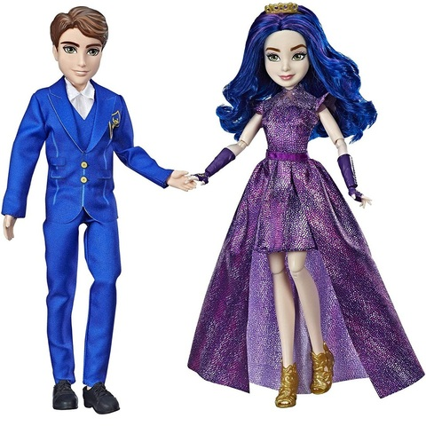 Королевская пара Мэл и Бэн. Наследники Дисней 3