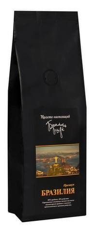 Кофе в зернах Брилль Cafe «БРАЗИЛИЯ» 190 гр