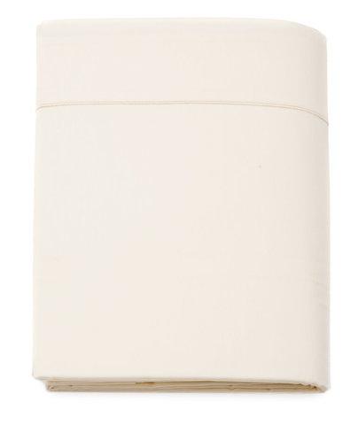 Простыня прямая 240x300 Blanc des Vosges сатин молочная