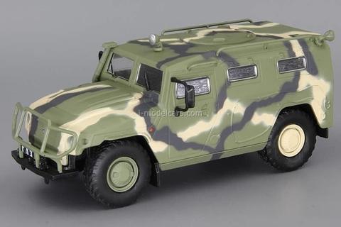 GAZ-233014 Tiger camouflage 1:43 DeAgostini Auto Legends USSR #216