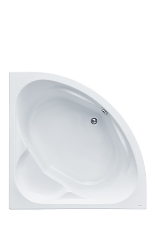 Акриловая ванна Santek Карибы 140х140 симметричная белая 1WH111982