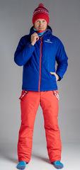 Утеплённый прогулочный лыжный костюм Nordski Patriot Blue-Red мужской