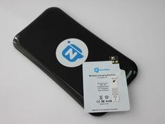 Комплект для Samsung Galaxy S5: беспроводная зарядка Qi + приемник-ресивер Qi