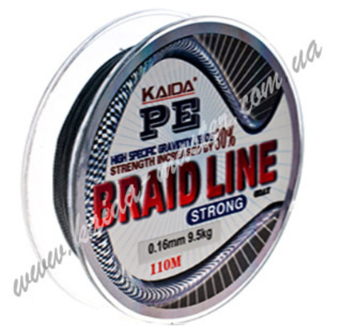 Плетенка BRAID LINE KAIDA strong YX-112-20