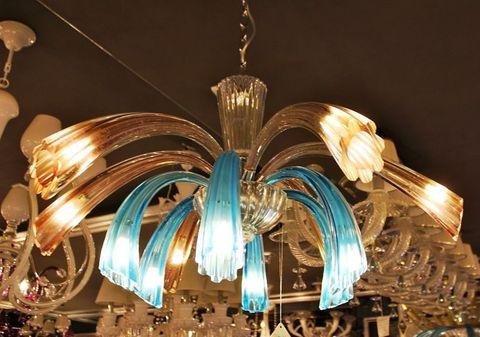 murano chandelier  ARTE DI MURANO 12-20  by Arlecchino Arts ( HK)