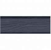 Плинтус ПВХ с кабель каналом T-plast ольха синяя, 035