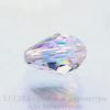 5500 Бусина - капля Сваровски Crystal AB 9х6 мм
