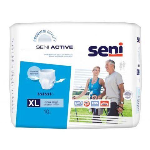 Впитывающие трусы Seni Active (Extra Large) 10 шт. (120-160 см) , впит. 1800мл
