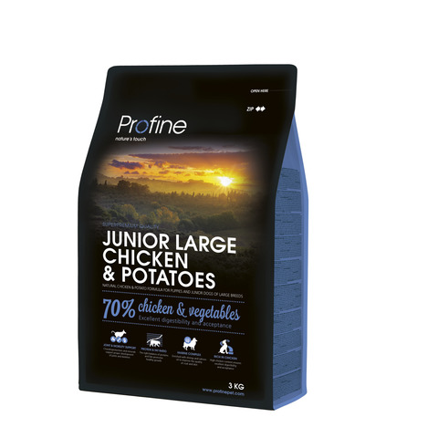 Profine Junior Large Breed Chiken and Potatos