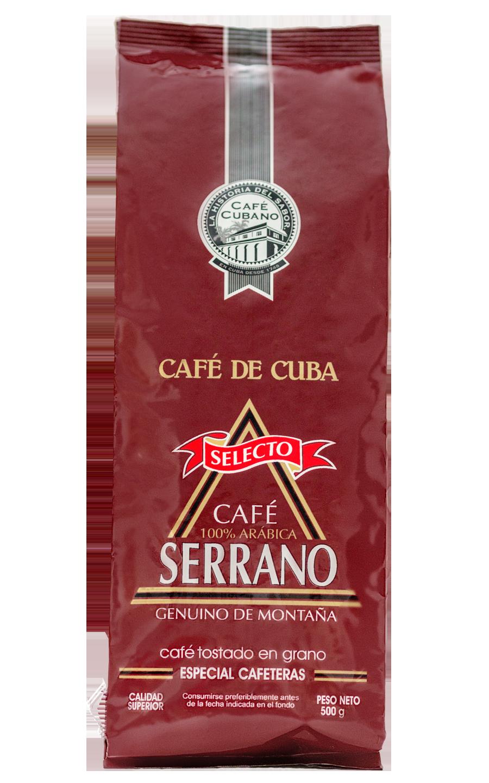 Кофе SERRANO зерновой 500 гр