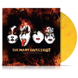 Сборник / The Many Faces Of KISS (Coloured Vinyl) (2LP)