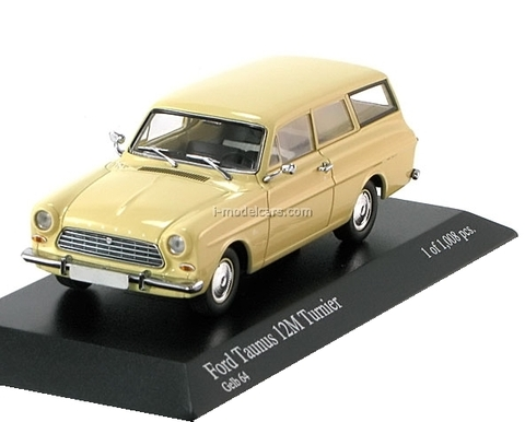 Ford Taunus 12M estate 1962 creme Minichamps 1:43