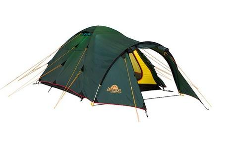 палатка туристическая Alexika TOWER 3 green, 420x190x115