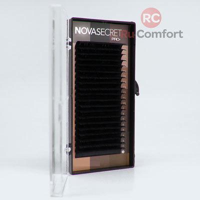 """NovaSecret Ресницы NOVASEСRET pro+ Черные, изгиб """"СС mix"""" 0712-resn.jpg"""