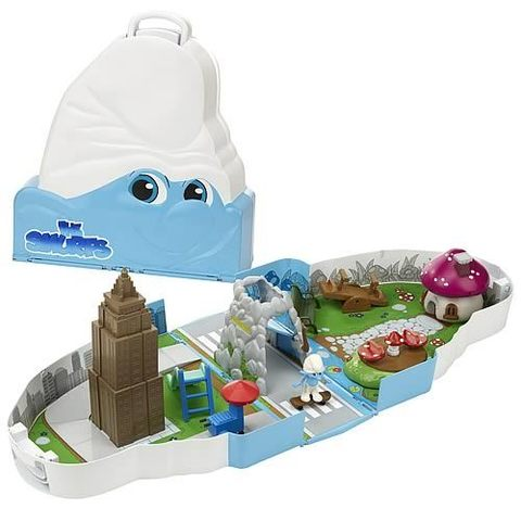The Smurfs Movie Escape from New York 2-in-1 Playset