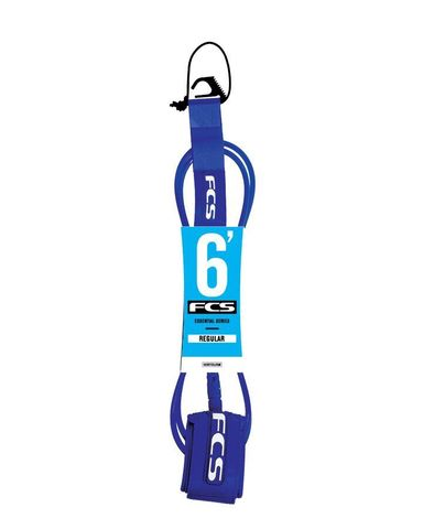 Лиш FCS 6' Regular Leash 7mm Blue Glass