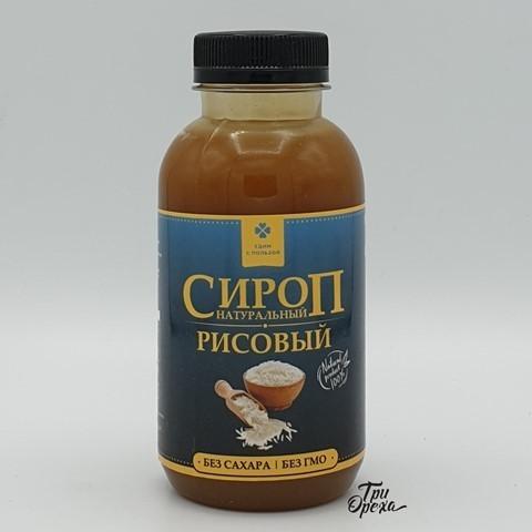 Сироп рисовый натуральный ЕДИМ С ПОЛЬЗОЙ, 300 мл