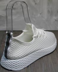 Женские кроссовки модные Small Swan NB283-2 All White.