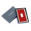 Визитница Pierre Cardin кожзам и металл красный (PC1139red) pierre hardy платок