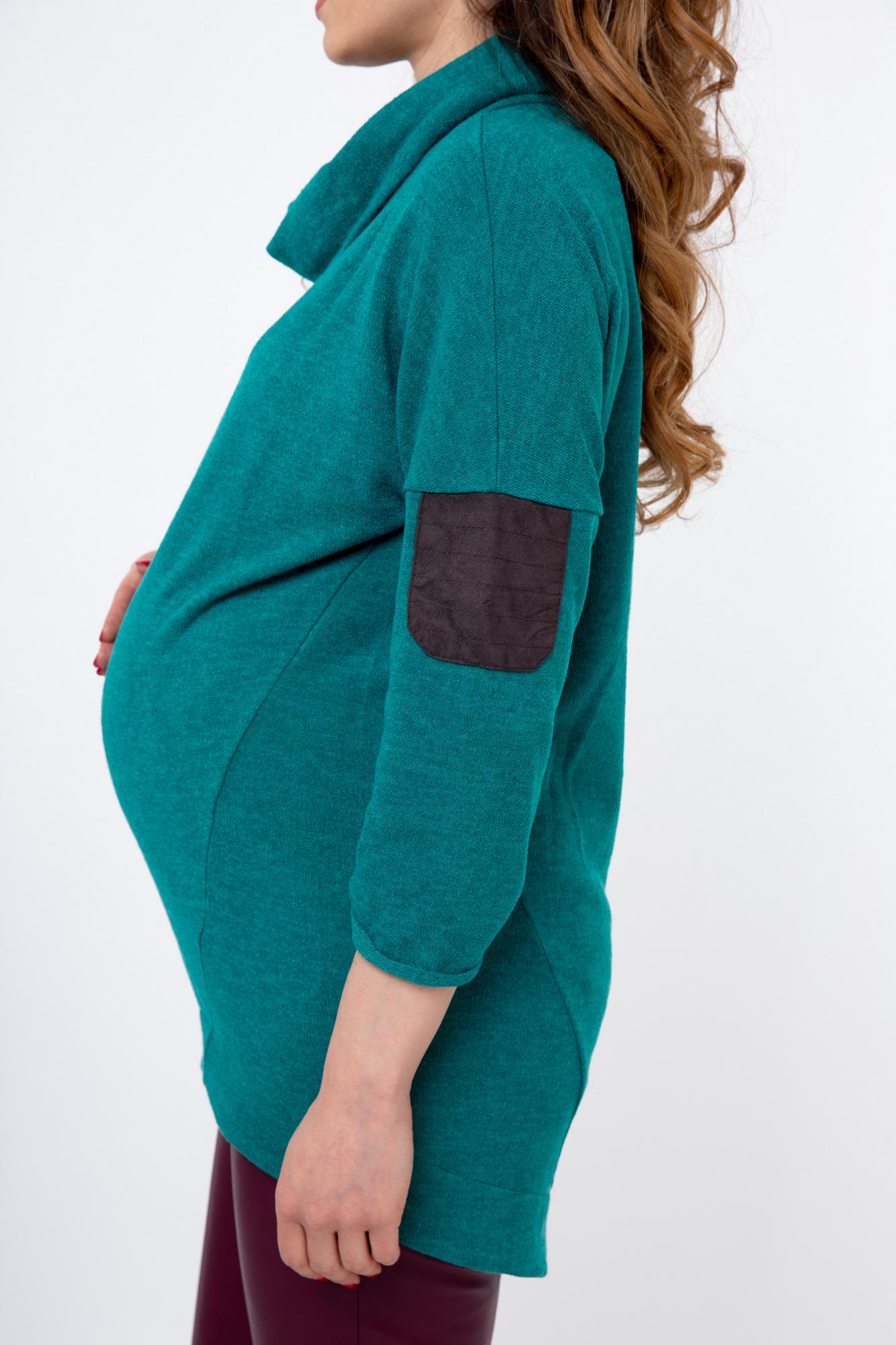 Блуза 03808 зеленый